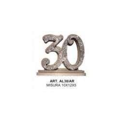 ALZATINA 30 ANNI ARGENTO