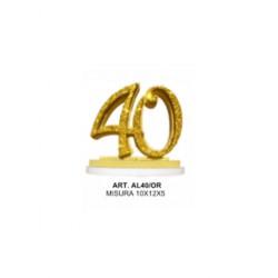 ALZATINA 40 ANNI ORO