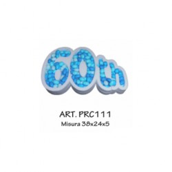 PORTACONFETTI (USO ESPOSIZIONE)  60 th