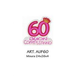 60 BUON COMPLEANNO FUXIA