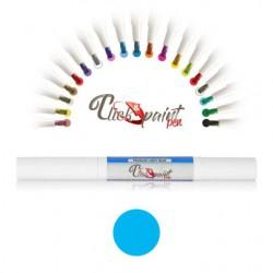 Click & Paint Pen  AZZURRO PERLATO - punta a pennello