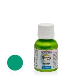 Smeraldo gr 25  Glamour paint - pittura metallizzata