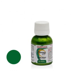 Verde Bosco Perl. gr 25 Glamour paint - pittura metallizzata