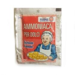 AMMONIACA 100 bustine da gr 20 per uso alimentare