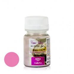 5 gr  ROSA in polvere perlato