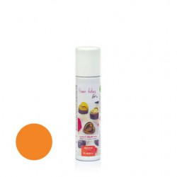75  ml.        ARANCIO  Colore spray perlato -