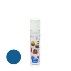 75  ml.        COBALTO (tende al Blu)  Colore spray perlato -