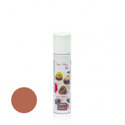 75  ml.        MARRONE  Colore spray perlato -