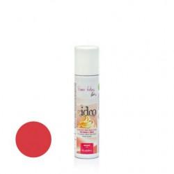 75  ml.        ROSSO Colore spray idrosolubile -