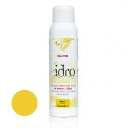 150  ml.        GIALLO Colore spray idrosolubile