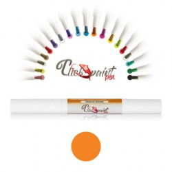 Click & Paint Pen  ARANCIO PERLATO - punta a pennello