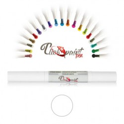 Click & Paint Pen  BIANCO - punta a pennello