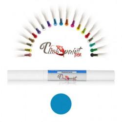 Click & Paint Pen  BLU SCURO PERLATO - punta a pennello