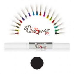 Click & Paint Pen  NERO PERLATO - punta a pennello