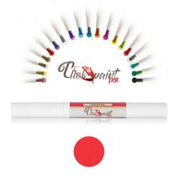 Click & Paint Pen  ROSSO PERLATO - punta a pennello