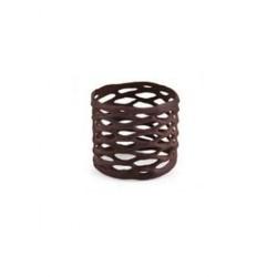 Braccialetto cioccolato  ø cm 3x3H