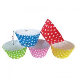 Cup cake da forno assortiti cm 7 x H4