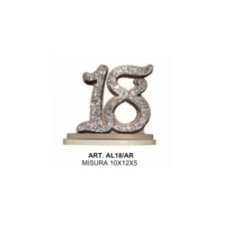 ALZATINA 18 ANNI ARGENTO
