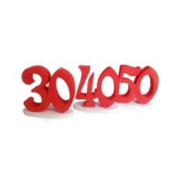 ALZATINA 50 ANNI ROSSA