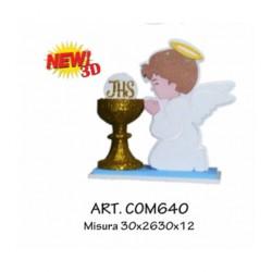 COMUNIONE NEW 3D AZZURRO