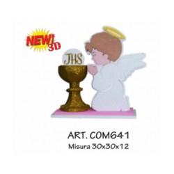 COMUNIONE NEW 3D ROSA