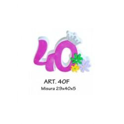 N. 40  CON FIORELLINI