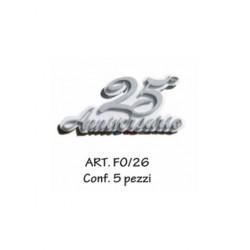 25 ANNIVERSARIO CONF. 5 PZ.