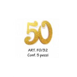 50 ORO CONF. 5 PZ.