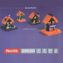 CASA HALLOWEEN IN GELATINA 3D     24pz