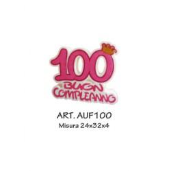 100 BUON COMPLEANNO FUXIA