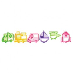 Set Stampini mezzi di trasporto