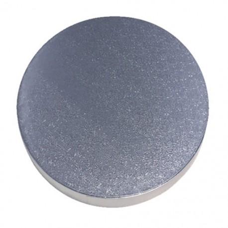 Piatto ricoperto alluminiio ø 25 cm x H 1,2  (cfz 5 px)