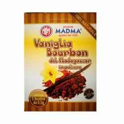 Astuccio Vaniglia Bourbon in polvere gr 0.05   5 bustine  (12Ast)